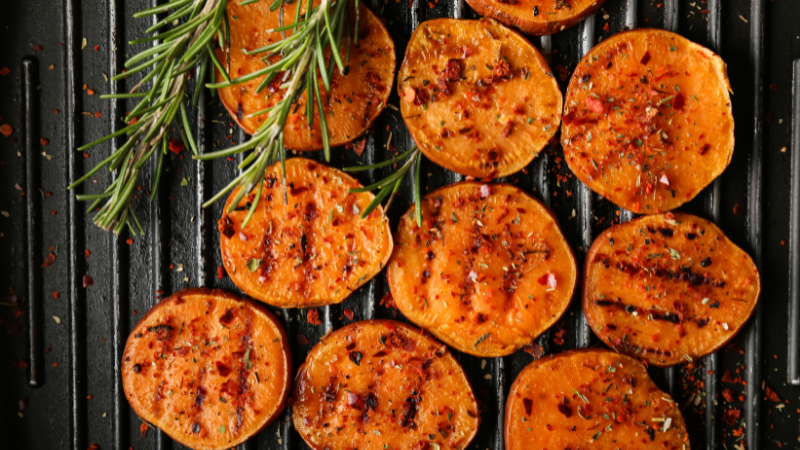 LETS GET CREATIVE WITH SWEET POTATOES